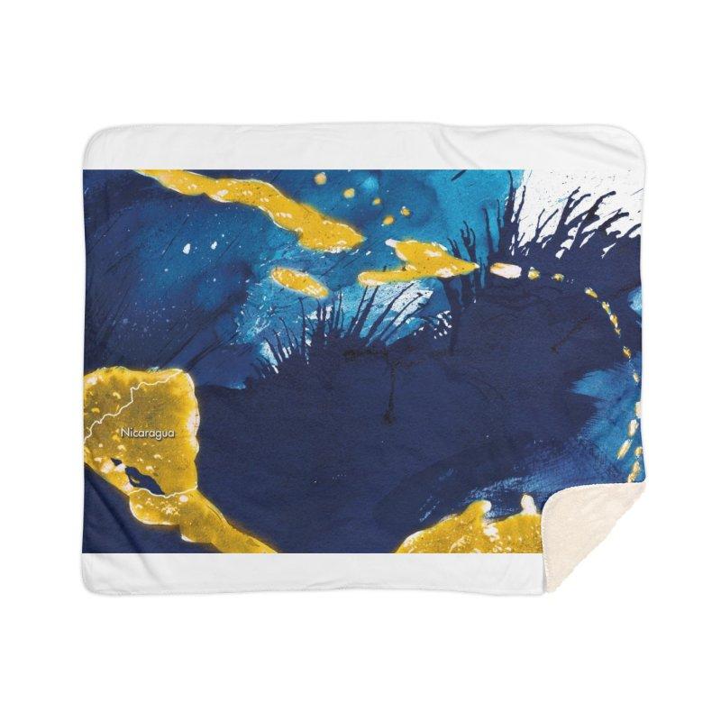 Caribe Home Sherpa Blanket Blanket by mojambo's Artist Shop