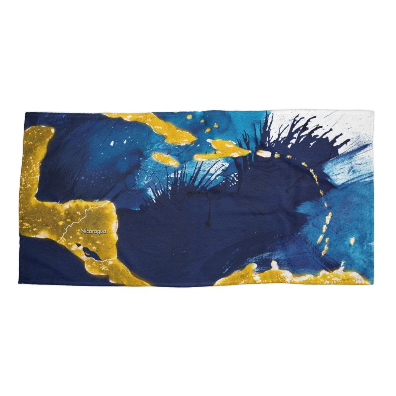 Caribe Accessories Beach Towel by mojambo's Artist Shop