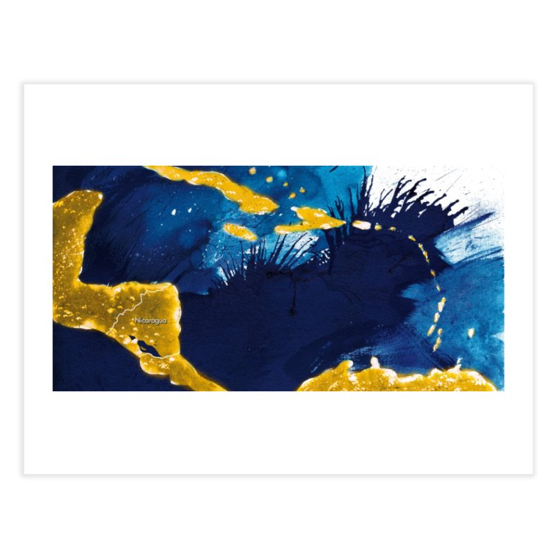 Caribe Home Fine Art Print by mojambo's Artist Shop