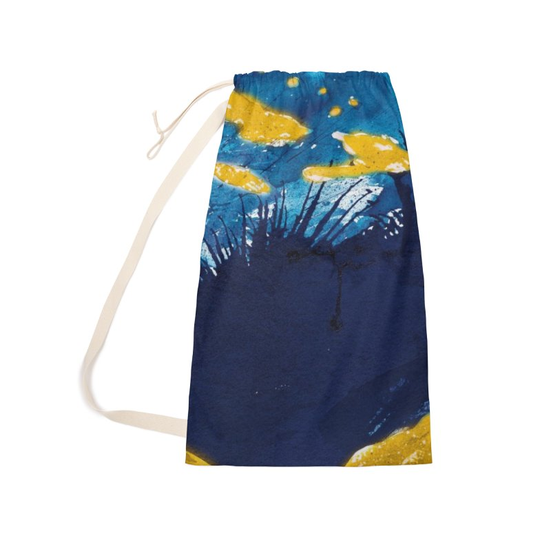 Caribe Accessories Laundry Bag Bag by mojambo's Artist Shop