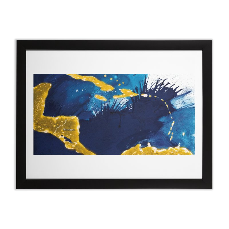 Caribe Home Framed Fine Art Print by mojambo's Artist Shop