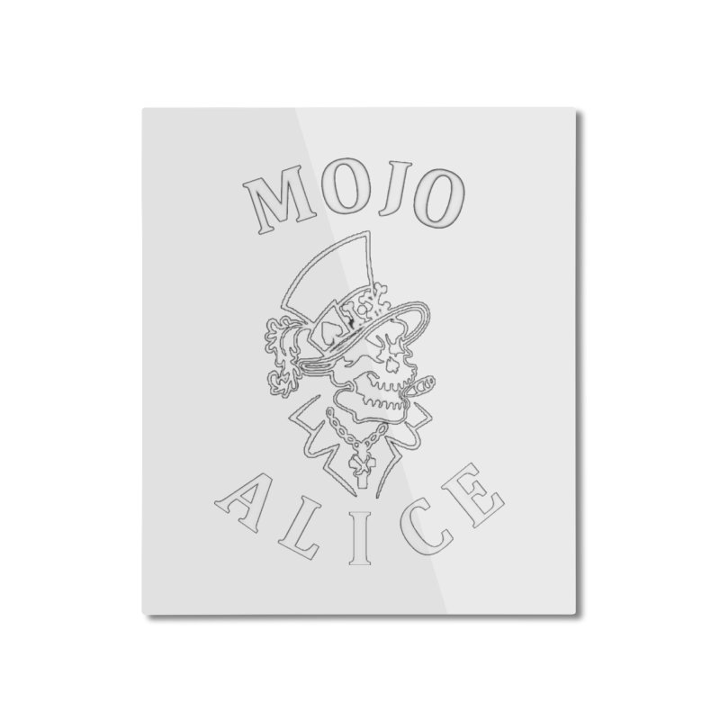 Male Baron Home Mounted Aluminum Print by Mojo Alice Merch