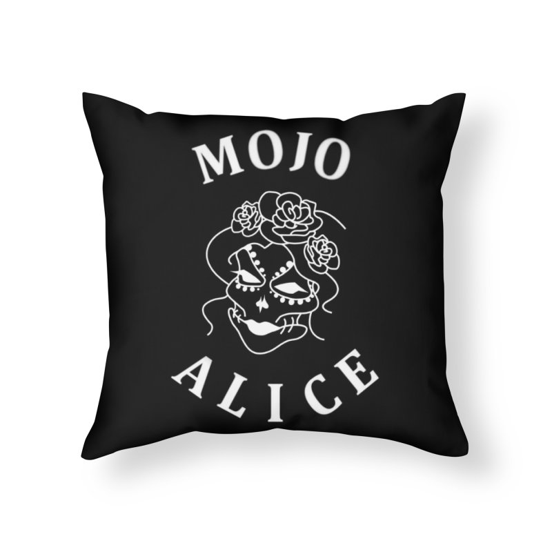 Female Baron Home Throw Pillow by Mojo Alice Merch