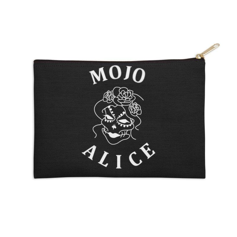 Female Baron Accessories Zip Pouch by Mojo Alice Merch