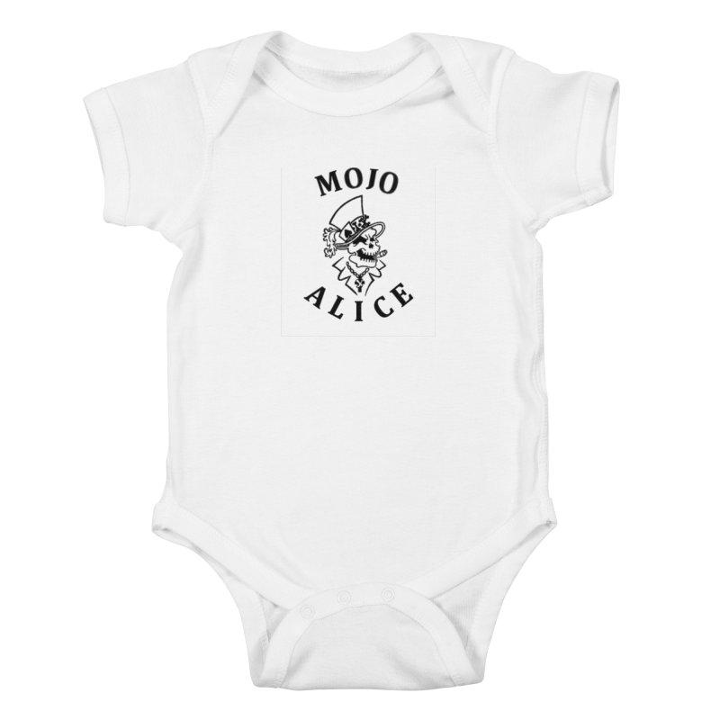 Male Baron Kids Baby Bodysuit by Mojo Alice Merch