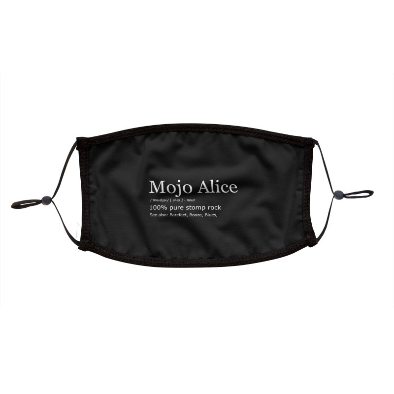 Mojo Alice Definition Accessories Face Mask by Mojo Alice Merch
