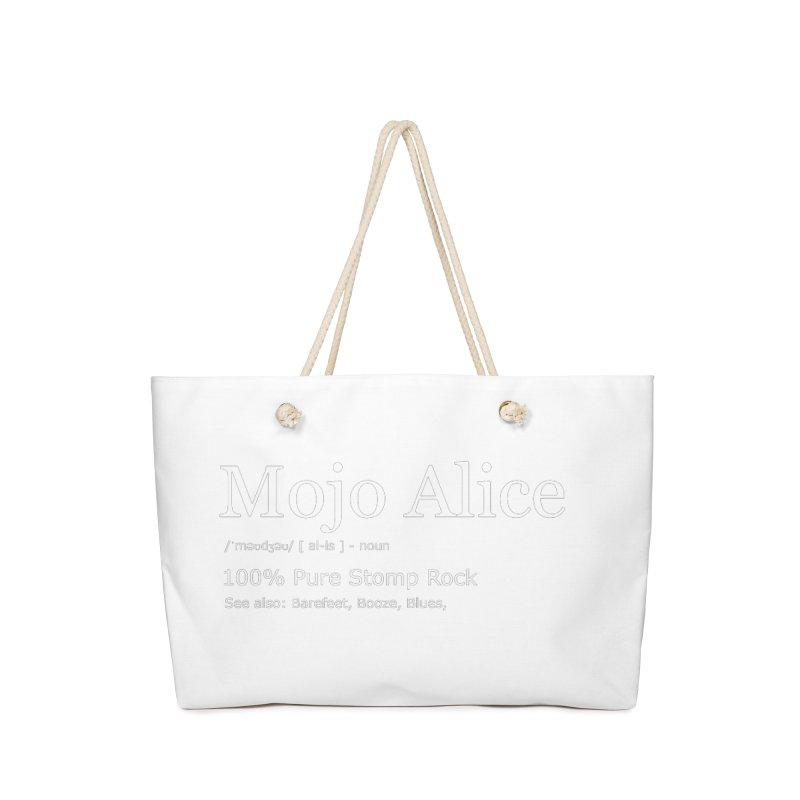 Mojo Alice Definition Accessories Bag by Mojo Alice Merch