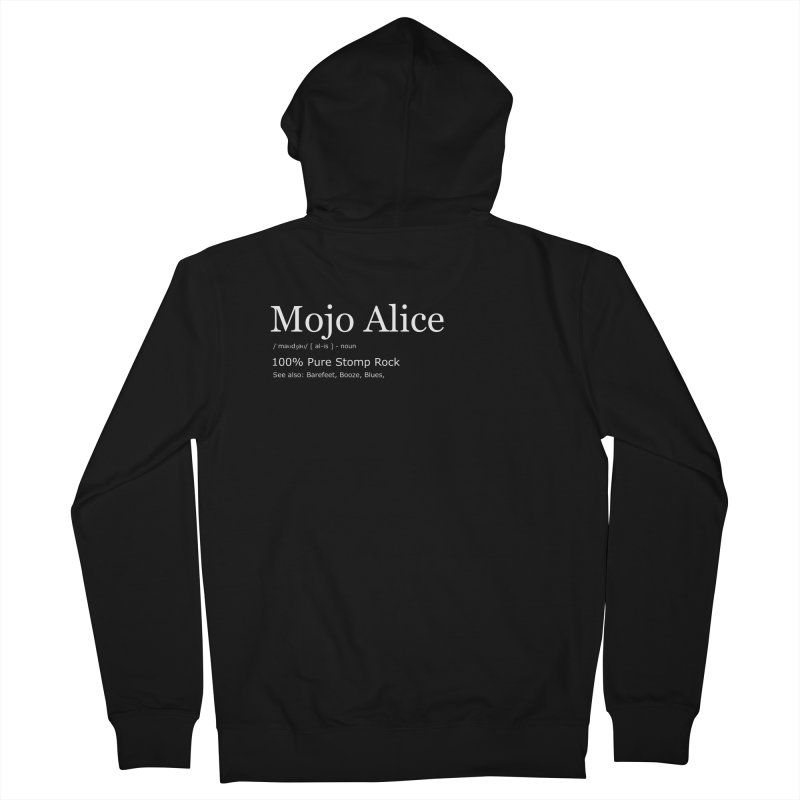 Mojo Alice Definition Men's Zip-Up Hoody by Mojo Alice Merch