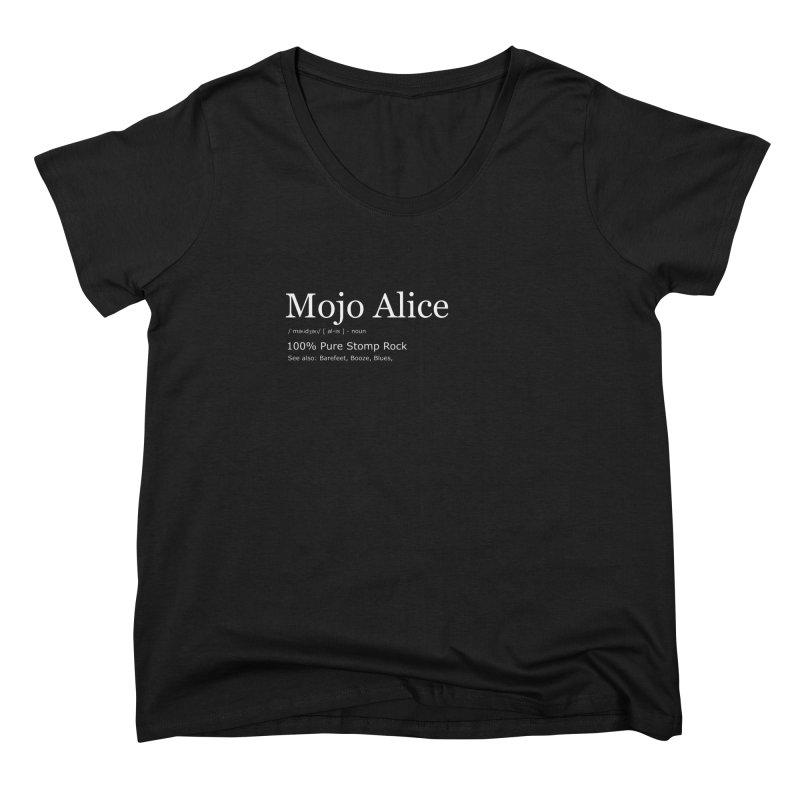 Mojo Alice Definition Women's Scoop Neck by Mojo Alice Merch