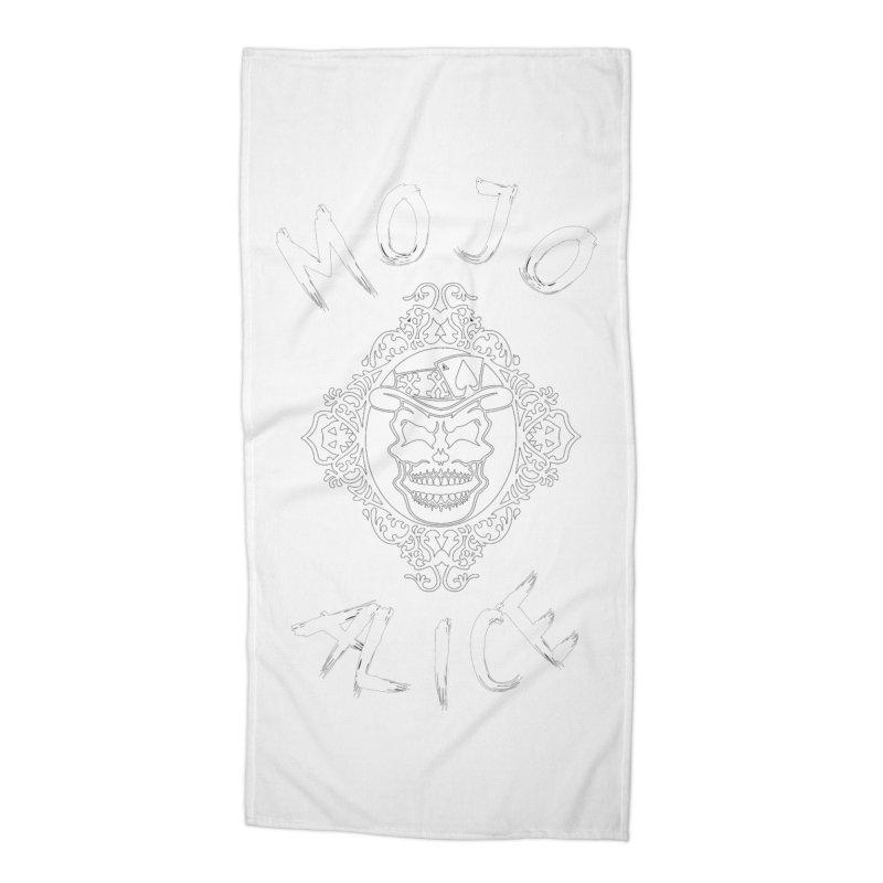 Framed Baron Accessories Beach Towel by Mojo Alice Merch