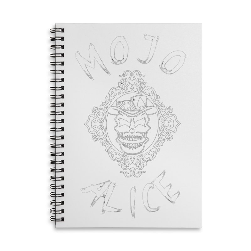Framed Baron Accessories Notebook by Mojo Alice Merch