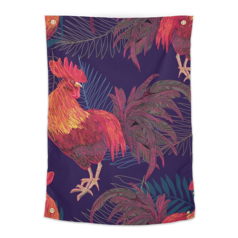 Rooster year Home Tapestry by mokalache's Artist Shop