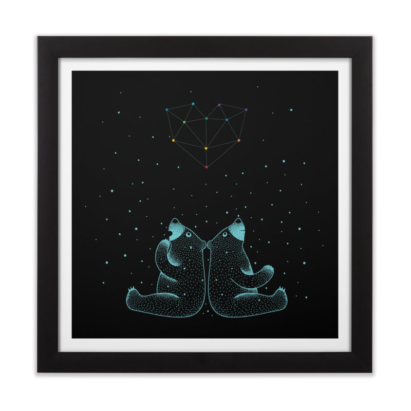 Love Wins Home Framed Fine Art Print by mokalache's Artist Shop