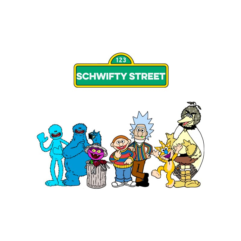 Schwifty Street None  by mokej's Artist Shop