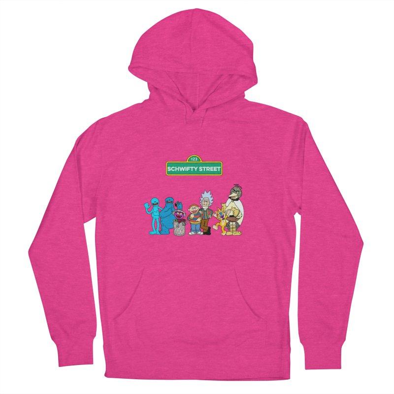 Schwifty Street Women's Pullover Hoody by mokej's Artist Shop