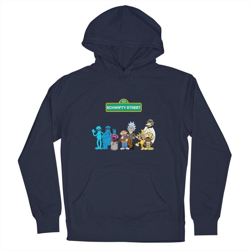 Schwifty Street Men's Pullover Hoody by mokej's Artist Shop