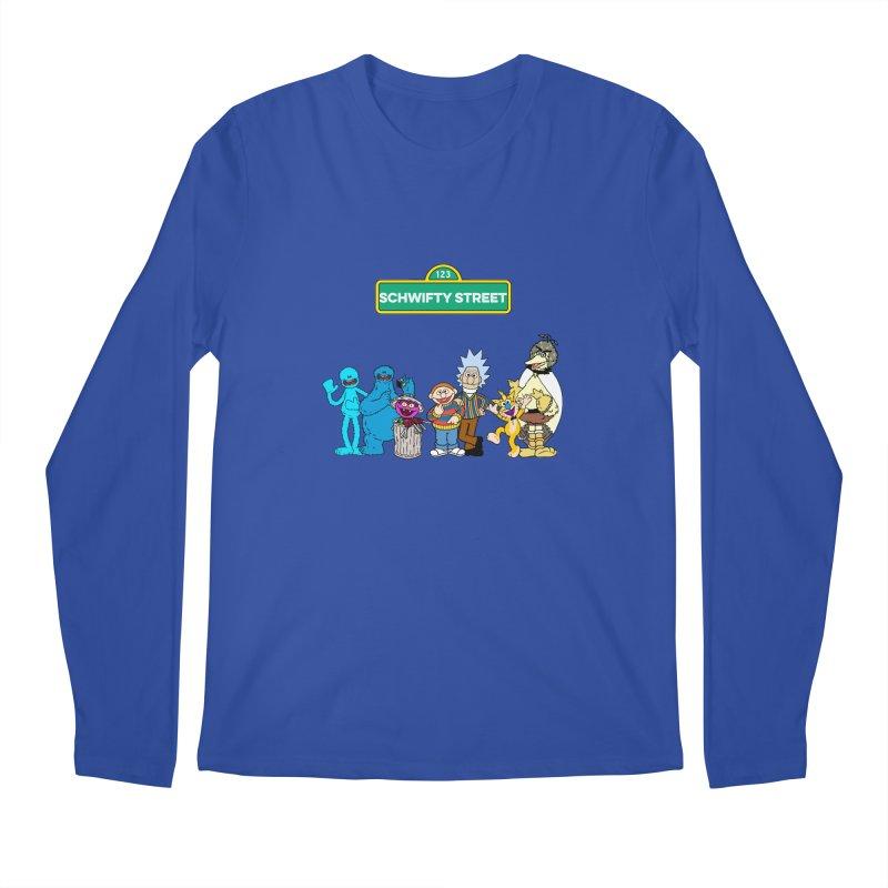 Schwifty Street Men's Longsleeve T-Shirt by mokej's Artist Shop