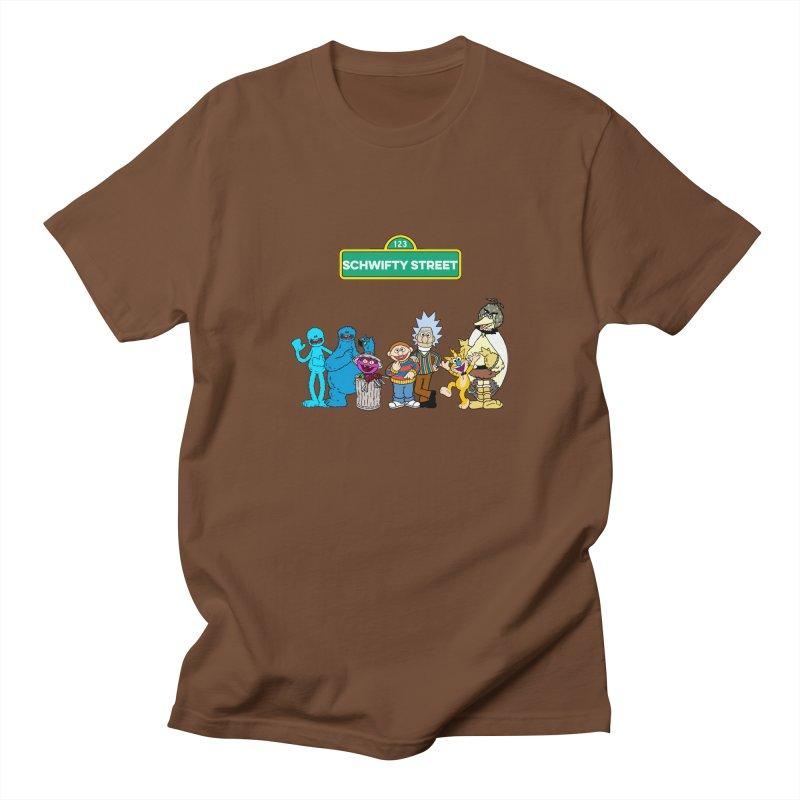 Schwifty Street Men's T-Shirt by mokej's Artist Shop