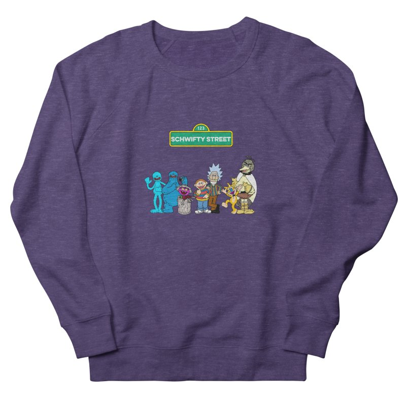 Schwifty Street Men's Sweatshirt by mokej's Artist Shop