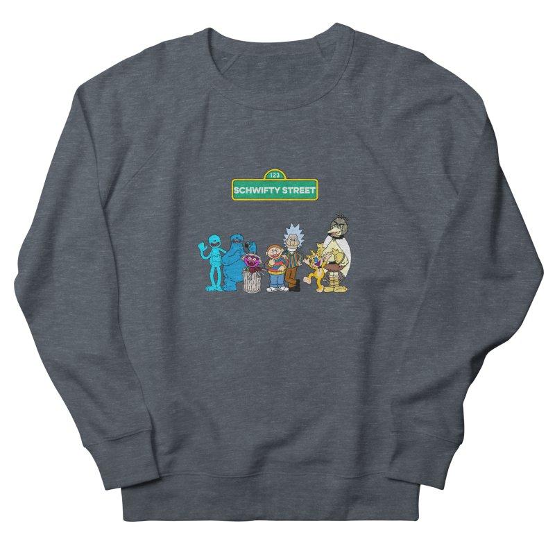 Schwifty Street Men's Sweatshirt by mokej's Artist Shop
