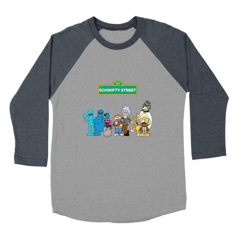 Schwifty Street Women's Baseball Triblend T-Shirt by mokej's Artist Shop