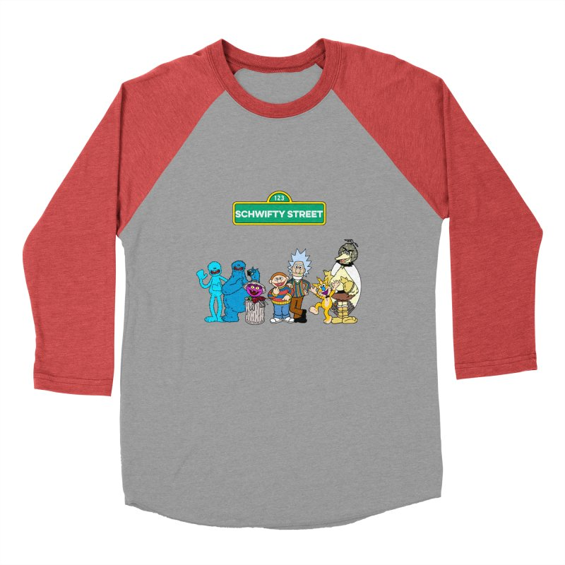 Schwifty Street Men's Baseball Triblend T-Shirt by mokej's Artist Shop