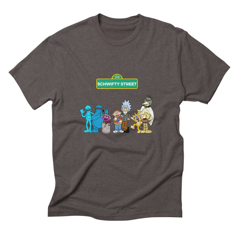 Schwifty Street Men's Triblend T-shirt by mokej's Artist Shop