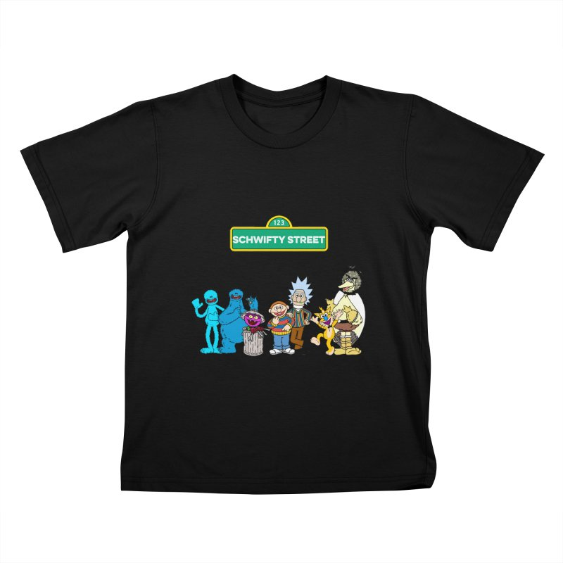 Schwifty Street Kids T-shirt by mokej's Artist Shop
