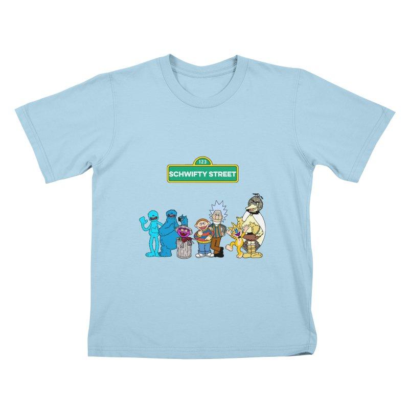 Schwifty Street Kids T-Shirt by mokej's Artist Shop