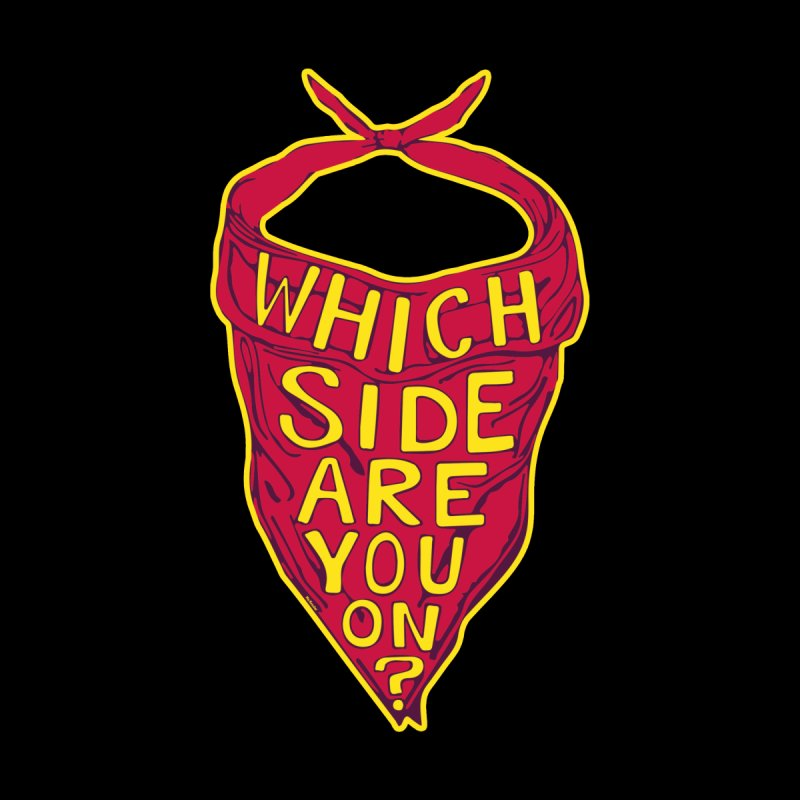WHICH SIDE ARE YOU ON? - Reconcile Sylva support Kids T-Shirt by Mo Kessler
