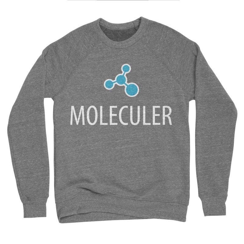 Moleculer logo & white text Men's Sponge Fleece Sweatshirt by Moleculer's Shop