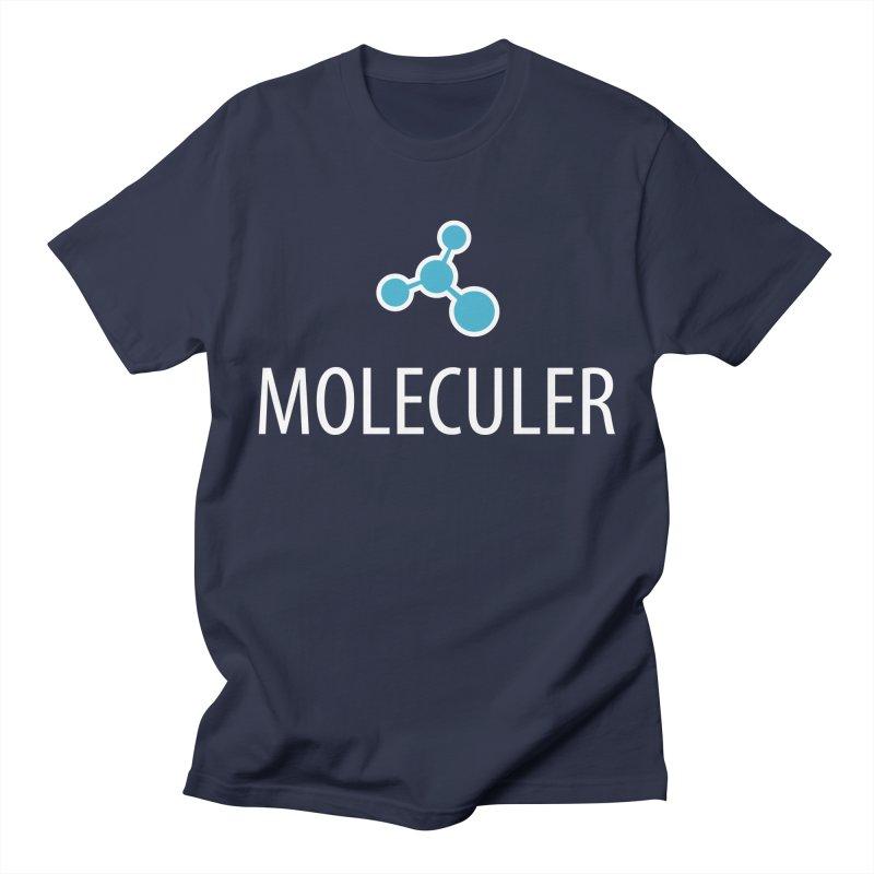 Moleculer logo & white text Men's Regular T-Shirt by Moleculer's Shop