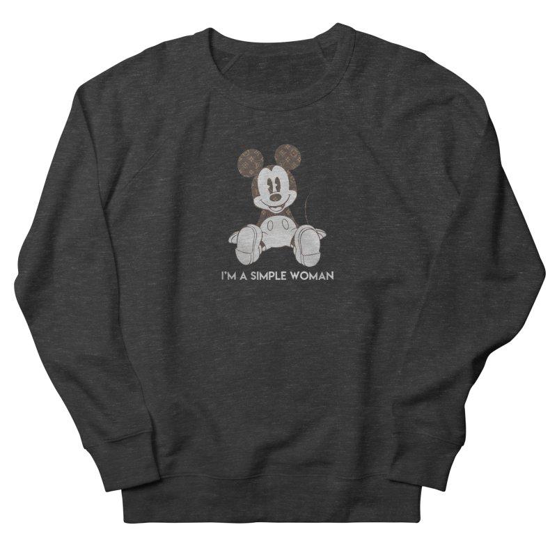 cdb8206a3013 Mickey mouse louis vuitton I m a simple women shirt Women s Sweatshirt by  molotee s Artist