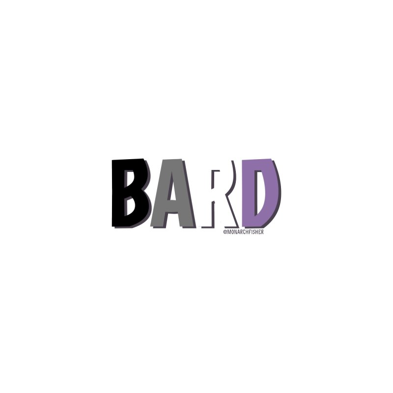 Bard Pride shirt (Asexual) by MonarchFisher Merch