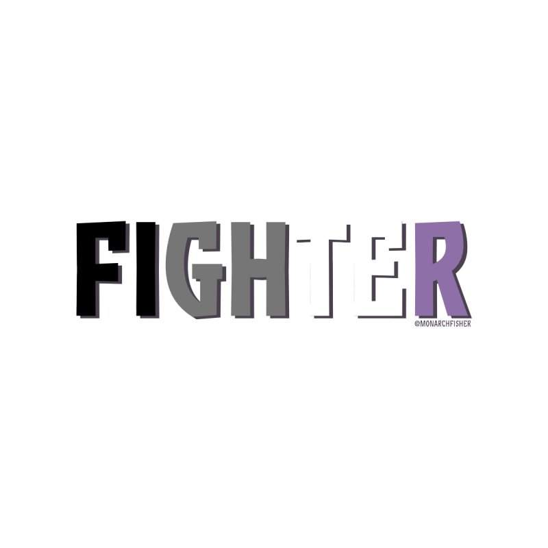 Fighter Pride shirt (Asexual) by MonarchFisher Merch