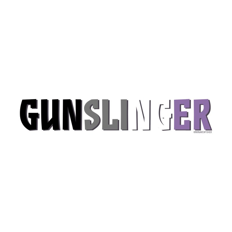 Gunslinger Pride shirt (Asexual) by MonarchFisher Merch