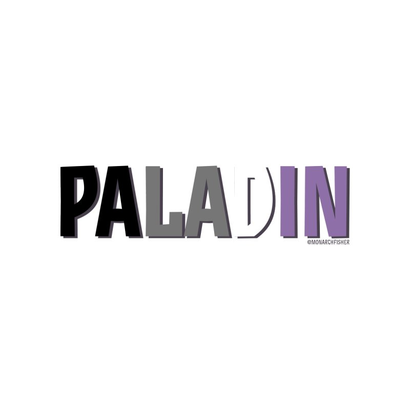 Paladin Pride shirt (Asexual) by MonarchFisher Merch