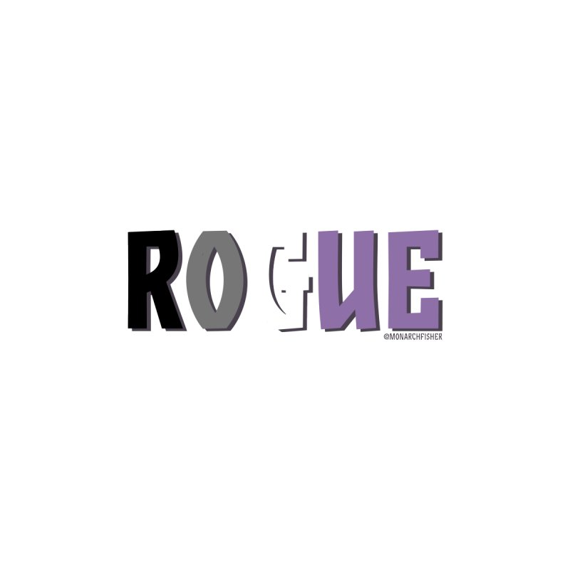 Rogue Pride shirt (Asexual) by MonarchFisher Merch