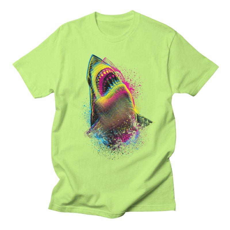 CMYK Sharkl Men's T-Shirt by moncheng's Artist Shop
