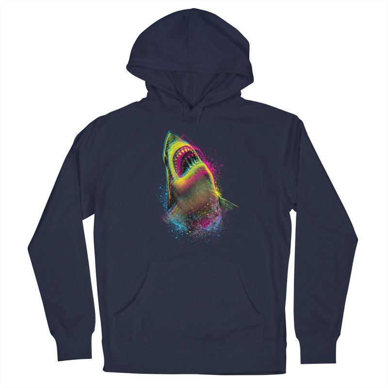 CMYK Sharkl Men's Pullover Hoody by moncheng's Artist Shop
