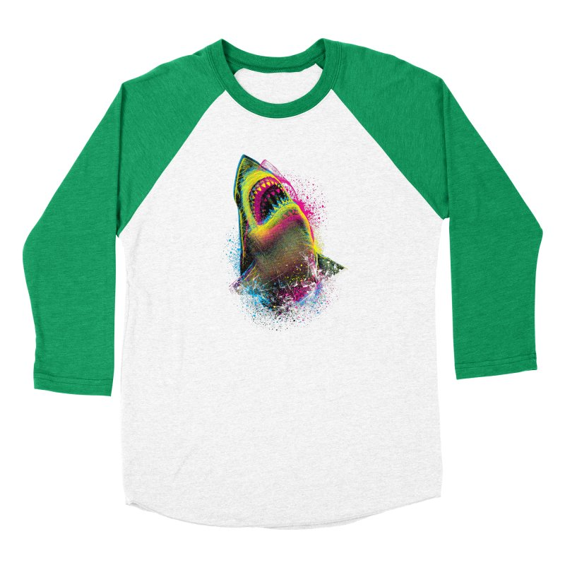 CMYK Sharkl Men's Longsleeve T-Shirt by moncheng's Artist Shop