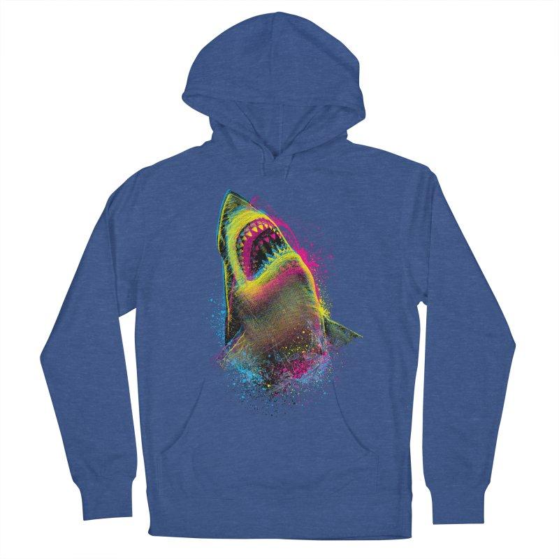 CMYK Sharkl Women's Pullover Hoody by moncheng's Artist Shop