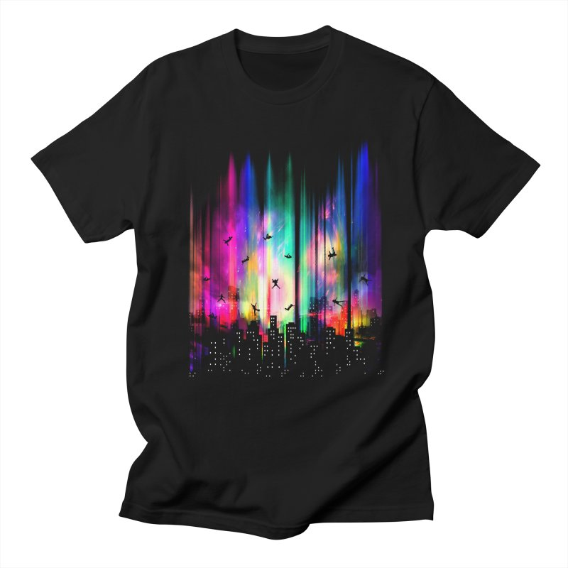 Feel Without Gravity Men's Regular T-Shirt by moncheng's Artist Shop