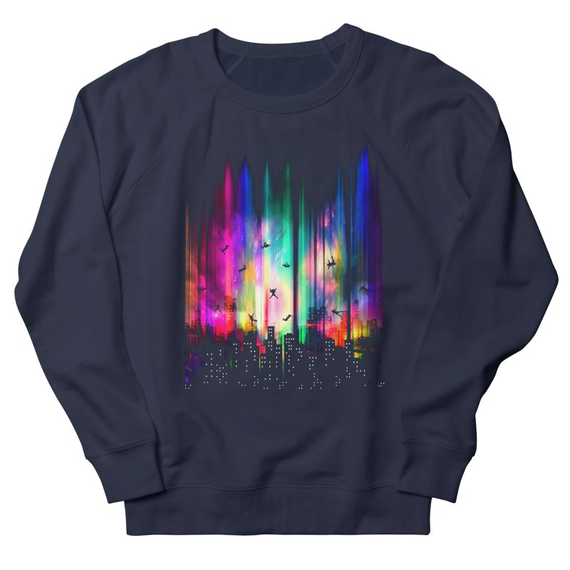 Feel Without Gravity Women's French Terry Sweatshirt by moncheng's Artist Shop