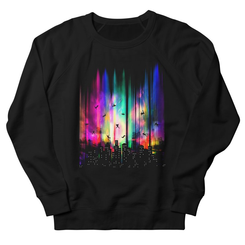 Feel Without Gravity Men's French Terry Sweatshirt by moncheng's Artist Shop