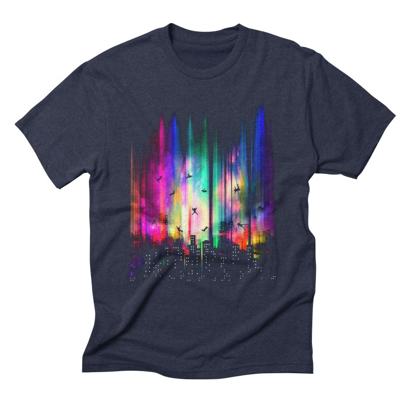 Feel Without Gravity Men's Triblend T-shirt by moncheng's Artist Shop