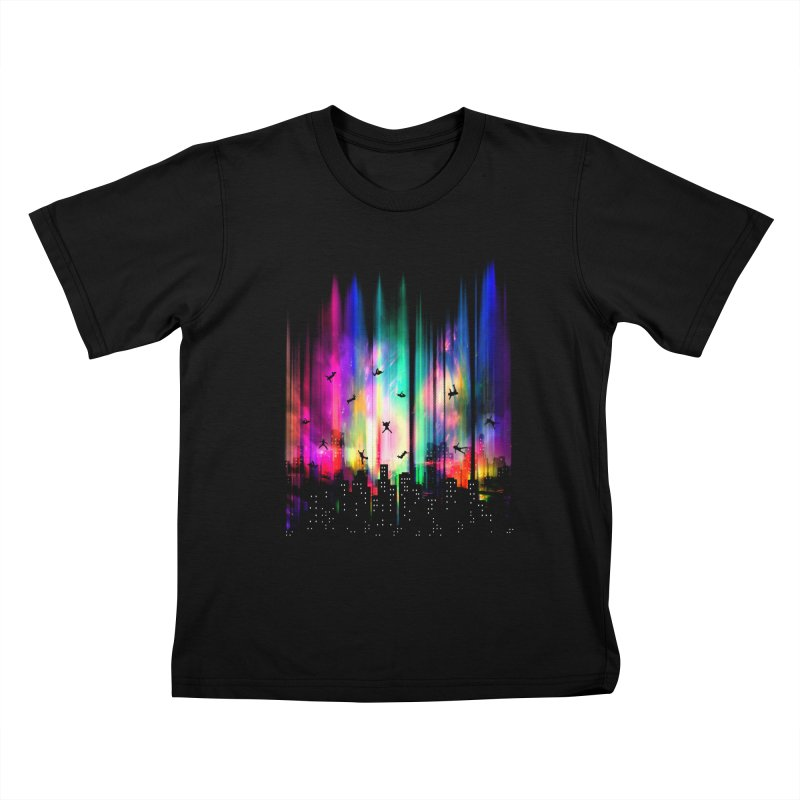 Feel Without Gravity Kids T-shirt by moncheng's Artist Shop