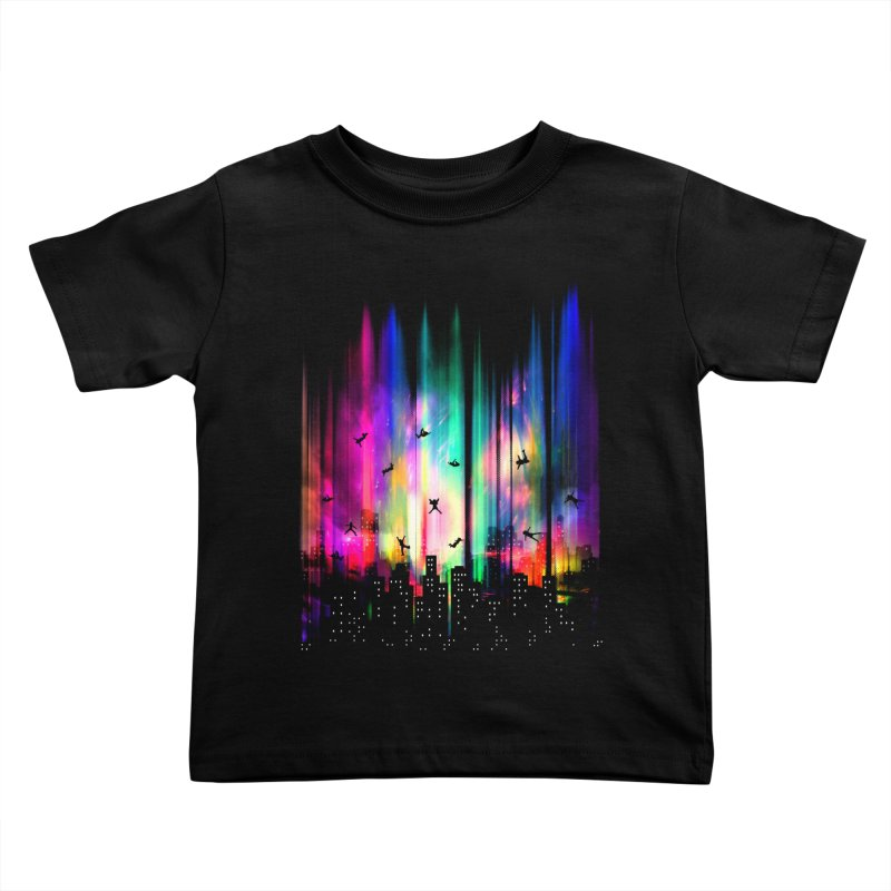 Feel Without Gravity Kids Toddler T-Shirt by moncheng's Artist Shop