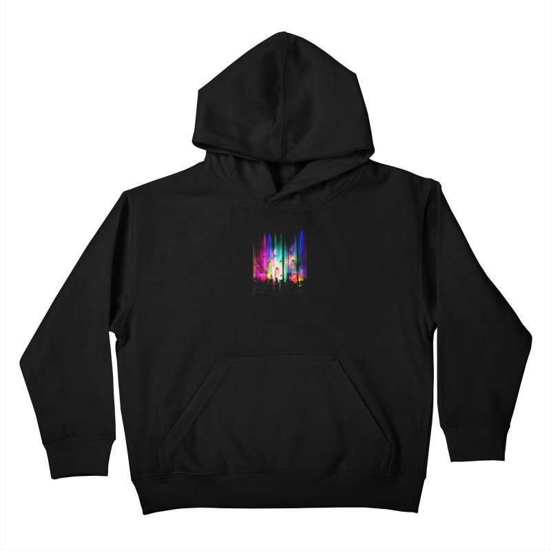 Feel Without Gravity Kids Pullover Hoody by moncheng's Artist Shop