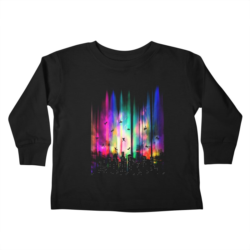 Feel Without Gravity Kids Toddler Longsleeve T-Shirt by moncheng's Artist Shop